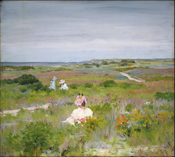 Wall Art - Painting - Field by William Merritt Chase