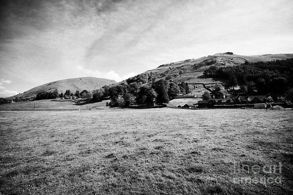 Grasmere Wall Art - Photograph - Fields And Hills Near Grasmere In The Lake District Cumbria England Uk by Joe Fox