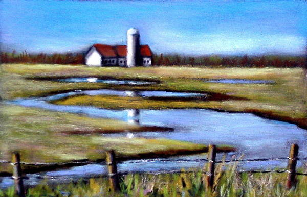 Wall Art - Pastel - Fields In Spring by Joyce Geleynse