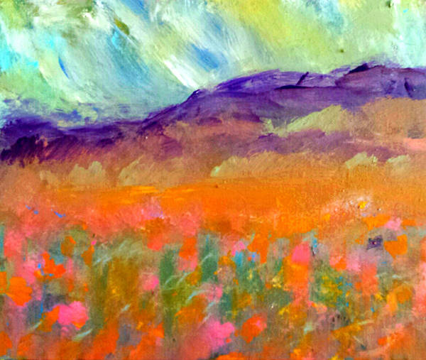 Painting - Fields Of Gold by Nikki Dalton