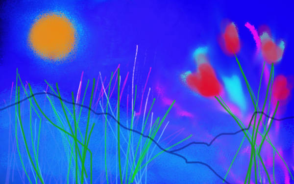 Painting - Fields Of The Sun  by Paul Sutcliffe