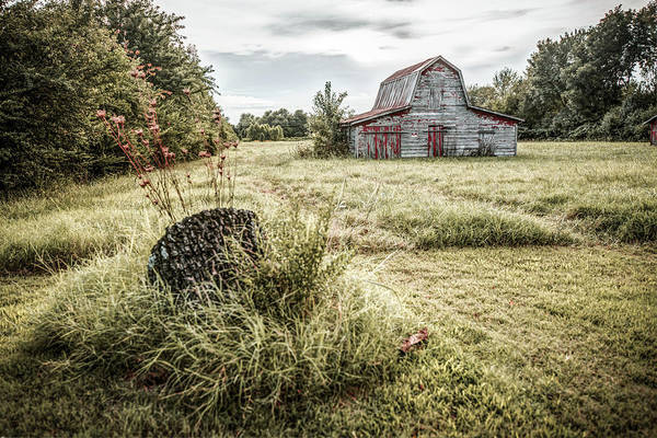 Photograph - Fields Where We Play - Barn Photography by Gregory Ballos