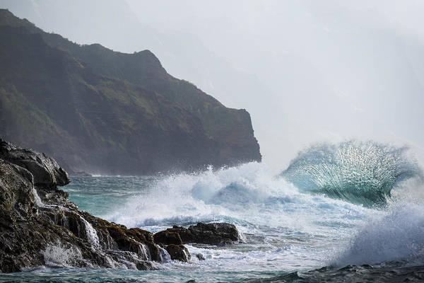 Photograph - Fierce Waves by Jon Glaser
