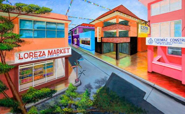 Painting - Fiesta Ko Sa Texas by Cyril Maza