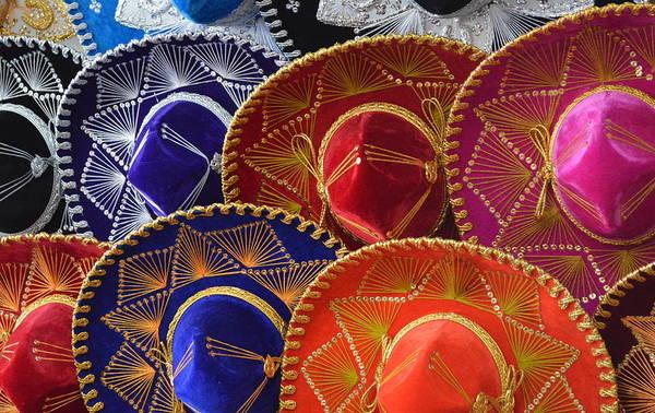 Photograph - Fiesta Sombero's by Bill Hamilton