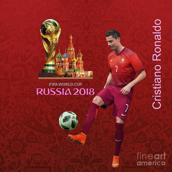 Super Cup Wall Art - Painting - Fifa World Cup Russia 1 by Gull G