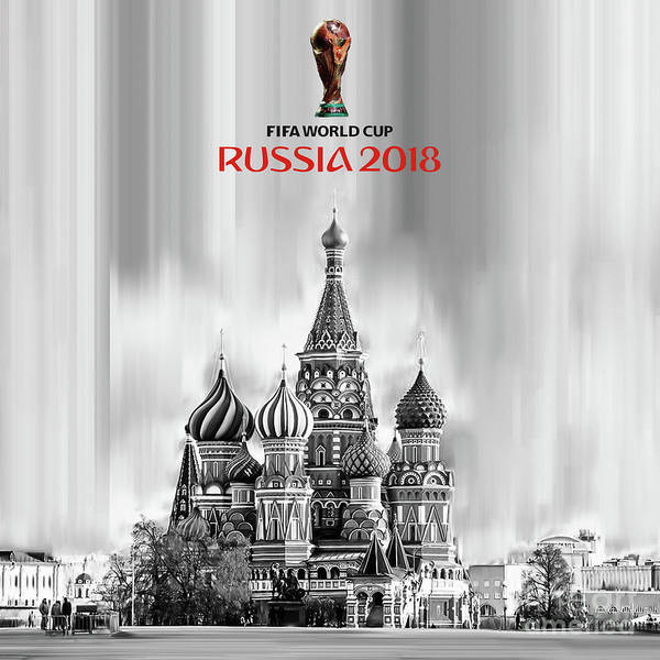 Super Cup Wall Art - Painting - Fifa World Cup Russia 2018 by Gull G