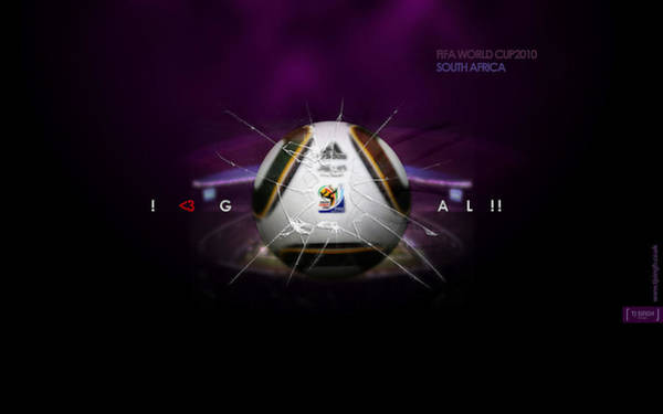 2010 Fifa World Cup Wall Art - Digital Art - Fifa World Cup South Africa 2010 by Lissa Barone