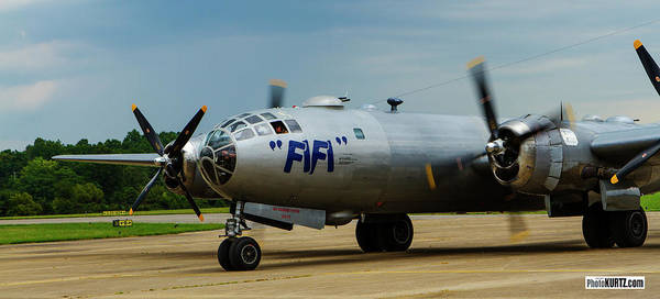 Photograph - Fifi Arrives In Marion Il by Jeff Kurtz