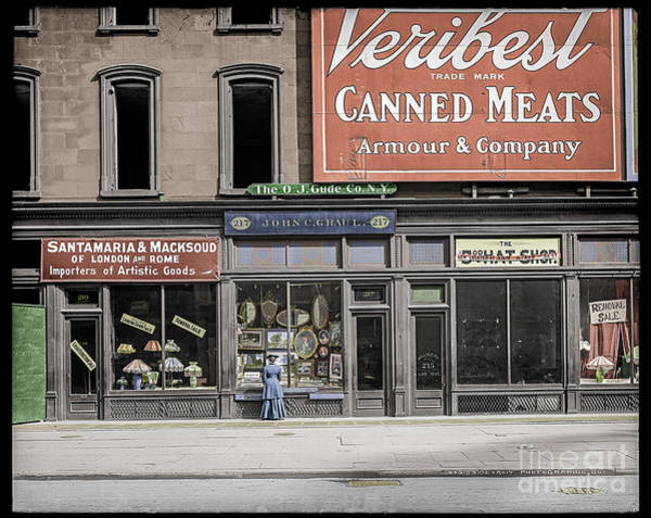 Photograph - Fifth Avenue Colourised by Russell Brown