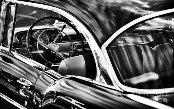 Chevy Wall Art - Photograph - Fifties Chevrolet Bel Air by Tim Gainey