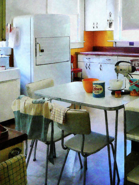 Photograph - Fifties Kitchen by Susan Savad