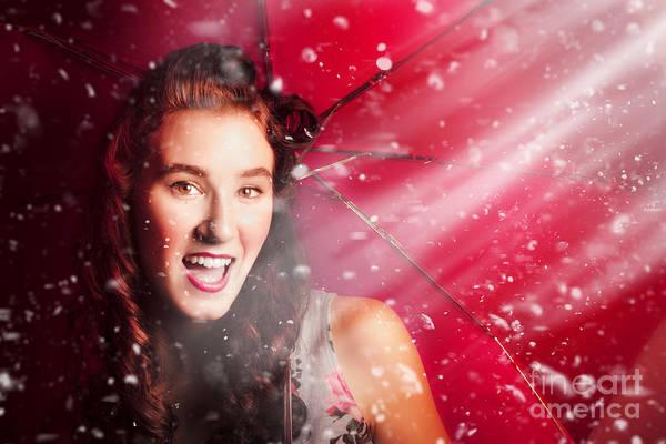 Photograph - Fifties Summer Fun Pin Up by Jorgo Photography - Wall Art Gallery