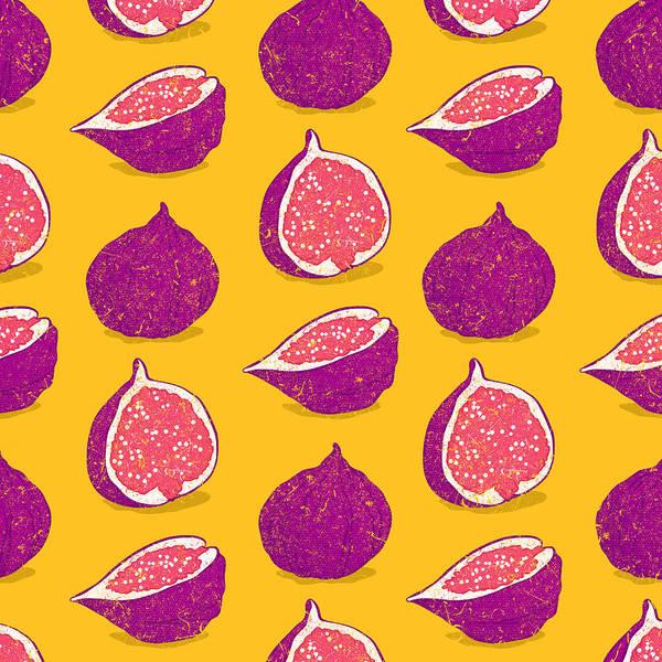 Juicy Fruit Wall Art - Digital Art - Fig by Evgenia Chuvardina