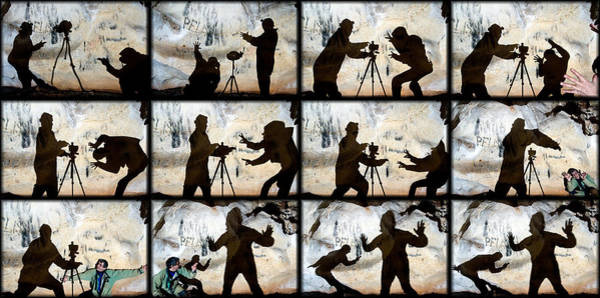 Wall Art - Photograph - Fight For A Tripod by Kikroune (christian R.)