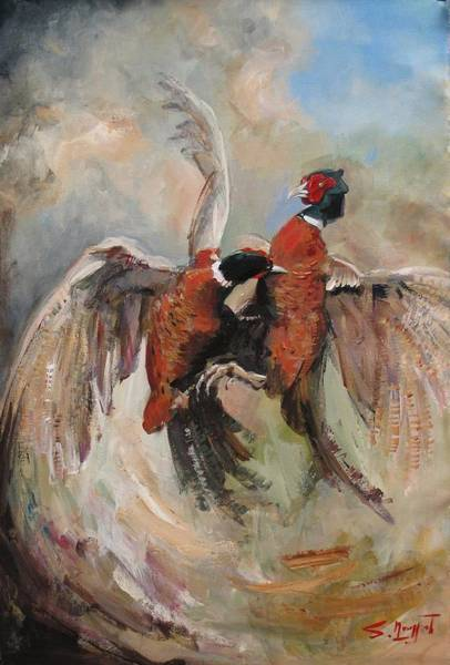 Painting - Fight by Tigran Ghulyan
