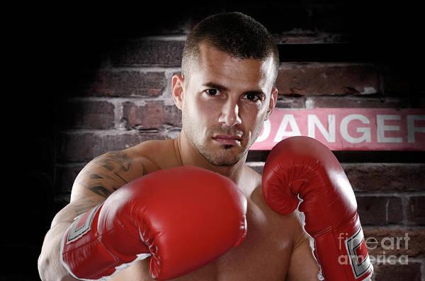 Kickboxing Photograph - Fighter by Oleksiy Maksymenko