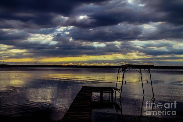 Photograph - Fighting Dawn by William Norton