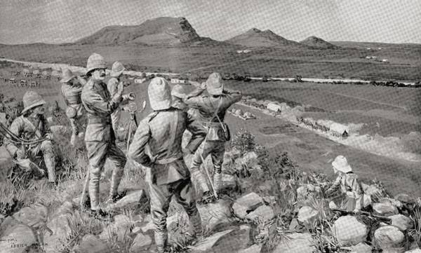 Brigade Drawing - Fighting Mac And The Highland Brigade by Vintage Design Pics
