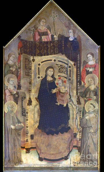 Photograph - Figline: Madonna And Child by Granger