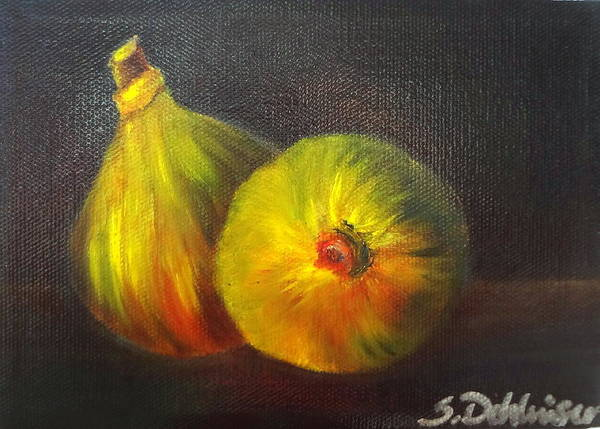 Painting - Figs - Sold by Susan Dehlinger