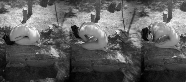 Photograph - Figurative Holga 1 by Catherine Sobredo