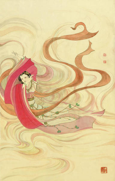 Graceful Painting - Figure - 7 by River Han