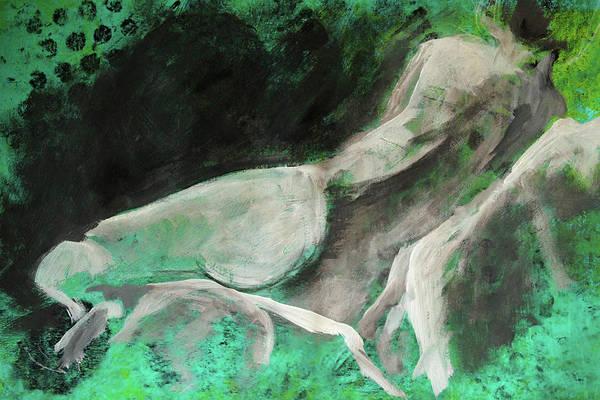 Human Figure Painting - Figure No 1 by Nancy Merkle