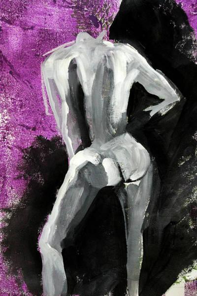 Human Figure Painting - Figure No 2 by Nancy Merkle