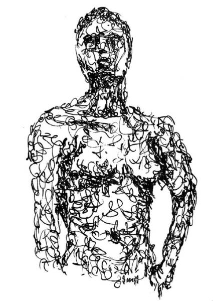 Figure Wall Art - Drawing - Figure by Sam Sidders