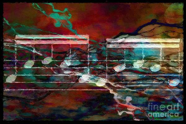 Digital Art - Figures Of Five 2 by Lon Chaffin