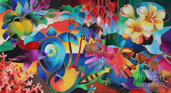 Painting - Fiji Memories by Maria Rova