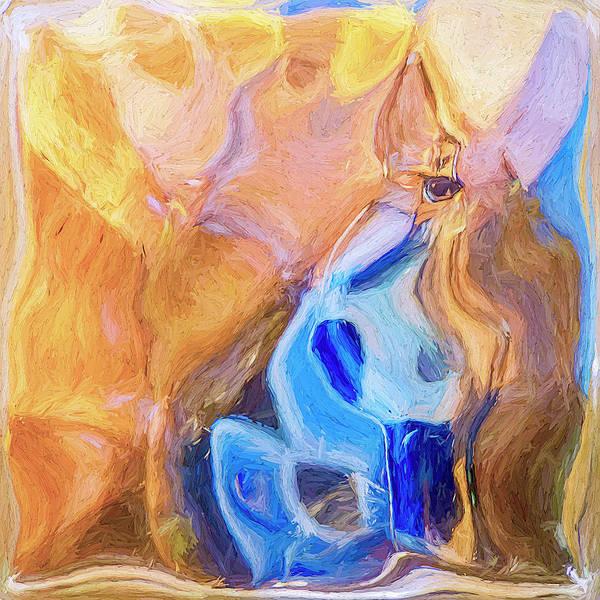 Digital Art - Wizard by Matt CegelisFilamentus PK