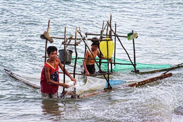 Photograph - Filipino Fishing by James BO Insogna