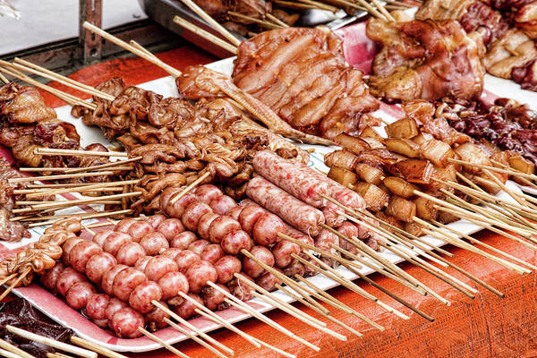 Photograph - Filipino Meat by James BO Insogna