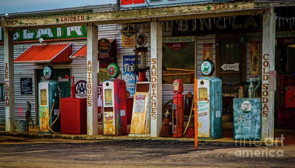 Photograph - Filling Station by Jon Burch Photography