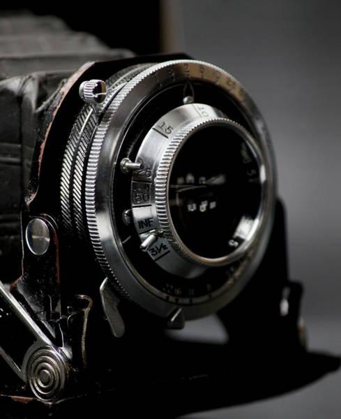 Wall Art - Photograph - Film Camera In Black by Kitty Ellis