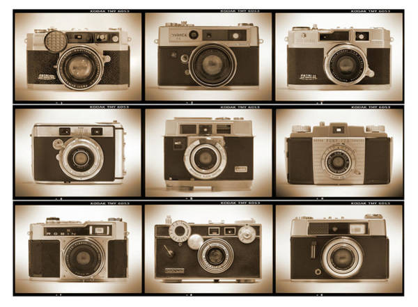 Lenses Photograph - Film Camera Proofs 2 by Mike McGlothlen