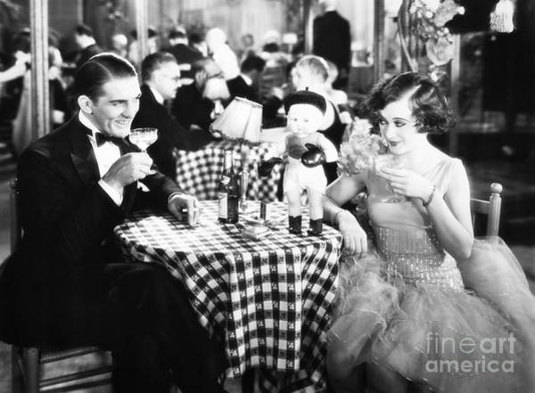 Photograph - Film Still: Eating & Drinking by Granger