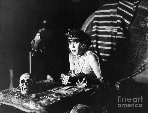Photograph - Film Still: Fortune Telling by Granger