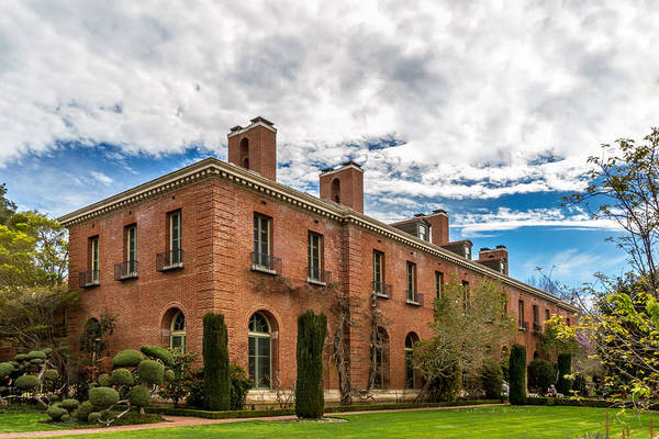 Woodside Photograph - Filoli by Bill Gallagher