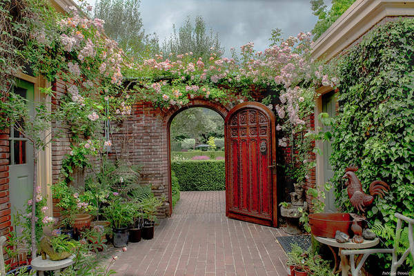 Filoli Photograph - Filoli Garden Entrance by Patricia Dennis