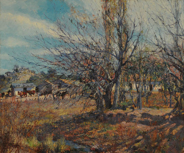 Painting - Fin De Invierno by Fernando Fader