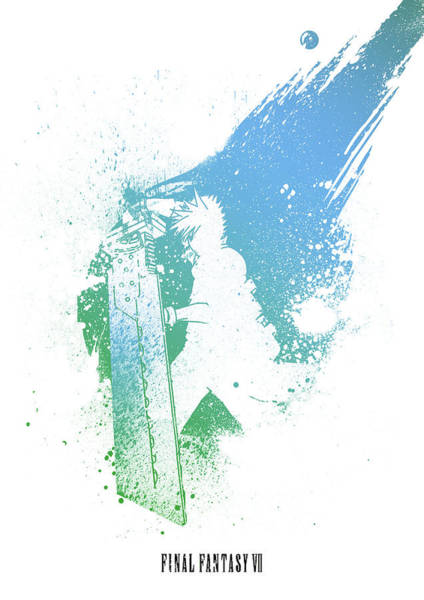 Digital Art - Final Fantasy 7 by IamLoudness Studio