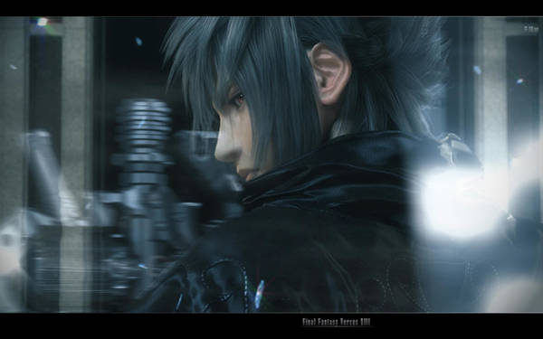 Versus Digital Art - Final Fantasy Versus Xiii by Mery Moon