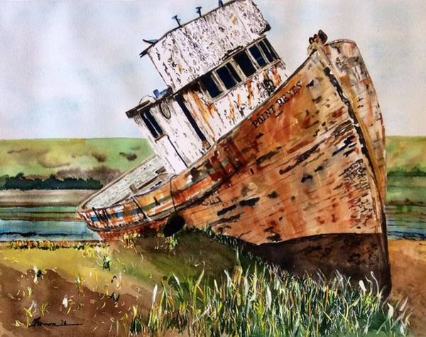 Art Print featuring the painting Final Resting by Patti Ferron