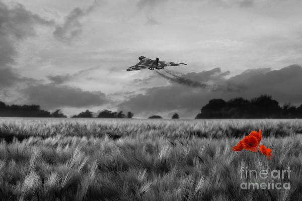 Falklands Digital Art - Final Sortie - Selective by J Biggadike