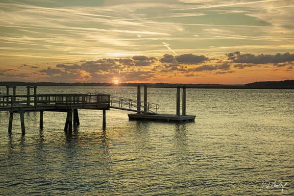 Hilton Head Island Photograph - Final Sunburst by Phill Doherty