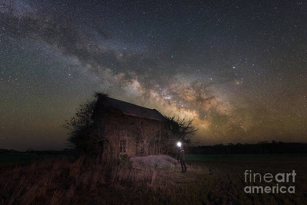 Photograph - Finally Home - Midnight Explorer by Michael Ver Sprill