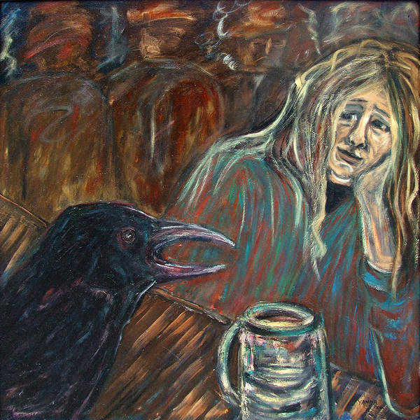 Painting - Finally Someone To Talk To by Katt Yanda